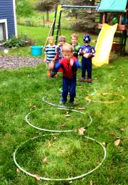 Backyard Superheroes Superhero Birthday Party Ideas These Little Waves