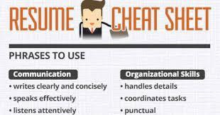 Fictional Resume Resume Cheat Sheet Resume Templates