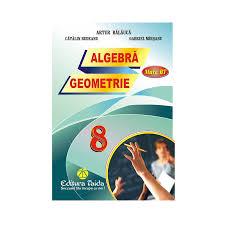 auxiliar algebra geometrie pentru clasa viii 978 606