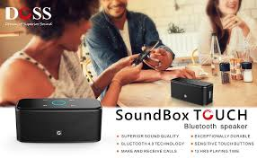 amazon black friday audio and speaker deals amazon com doss touch wireless bluetooth v4 0 portable speaker
