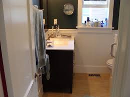 bathroom adorable wainscoting bathroom decoration with black wood