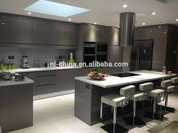 black gloss kitchen ideas contemporary minimal high gloss kitchen design in