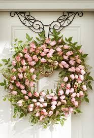 whimsical spring forsythia wreath jenna burger ana rosa i found the wreath hanger on http www grandinroad com