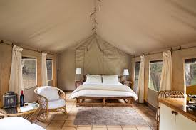 luxury tent near wollemi national park