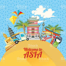 travel asia images Vector banner with asia travel theme stock vector art more