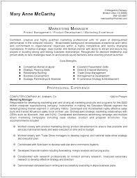 marketing manager resume resume product marketing manager marketing manager marketing resume