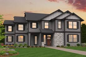 What Is A Rambler Style Home Transitional Mark Stewart Home Design