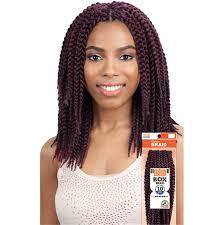 model model crochet hair mega box braid 10 model model glance synthetic crochet braiding