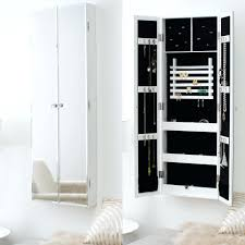 standing full length mirror jewelry armoire plans qvc 13860
