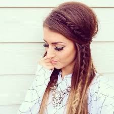 186 best hair styles half up half down images on pinterest