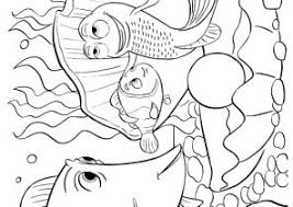 finding nemo coloring pages coloring4free