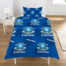 Electric Blue Duvet Cover Official Football Club Duvet Cover Sets Chelsea Manchester