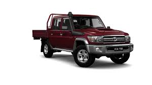 red land cruiser new toyota landcruiser 70 gxl double cab cab chassis in stock at