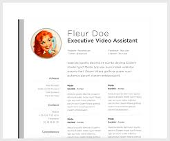 the perfect resume examples resume examples excellent 10 design simple layout resume resume examples perfect fleur doe executive video assistant website email resume templates apple facebook linkedin