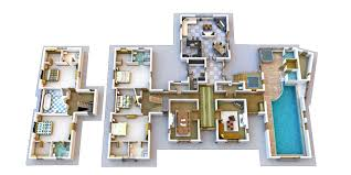 Floor Plan Two Storey House Double Storey House With Bedrooms Upstairs 5 Bed 5 Bath Dom