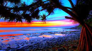 pix for u003e colorful beach sunsets backgrounds sunset pinterest