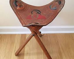 Leather Home Decor Leather Chair Etsy