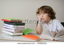 Homework Stock Photos  Royalty Free Images  amp  Vectors   Shutterstock Shutterstock A child of primary school age do homework  The boy does his homework at his