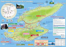 Bus Route Map Fixed Route Bus Line U2013 Sado Island Travel Guide
