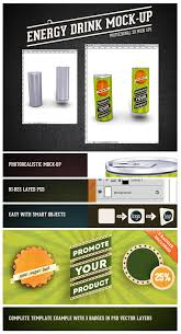 energy drink psd mock up on behance
