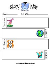plot development story map grades 1 3 writing pinterest