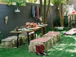Backyard Country Wedding How To Host A Backyard Barbecue Wedding Shower Diy