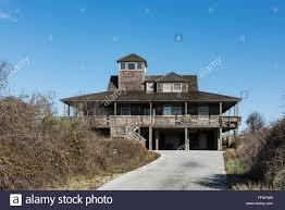 rustic beach house kitty hawk outer banks north carolina usa