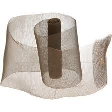 wide mesh ribbon 3 5 rust wire net ribbon 5ft 6552 69 craftoutlet