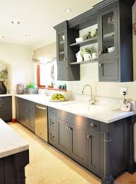 grey kitchens ideas blue grey painted kitchen inspiration design grace cottage