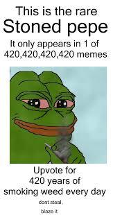 420 Blaze It Meme - pepe 420 blaze it powerdnssec