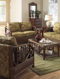 cancun palm end table cancun palm indoor rattan 4 pc living room set from hospitality