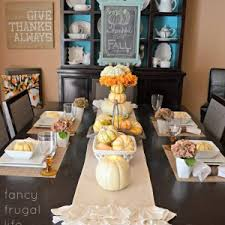 home decor thanksgiving table setting ideas and decorations