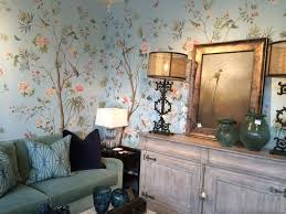 Interior Wallpaper For Home Designing Interiors With Chinoiserie Inspired Wallpaper Murals