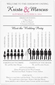 wedding program dimensions wedding program ideas wedding ideas