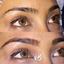 eyebrow tattoo perfectly shaped u0026 defined tattoo eyebrows by
