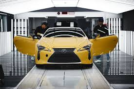 xe lexus lf lc lexus lc production for europe kicks off at motomachi formerly