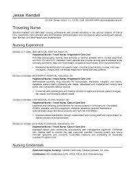 Sample Resume For Registered Nurse by Sample Of Nursing Resume Commercetools Us
