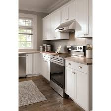 arcadia white kitchen cabinets lowes now arcadia 36 in w x 18 in h x 12 in d white door wall stock cabinet