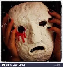 Mask Of Halloween Drama Mask Stock Photos U0026 Drama Mask Stock Images Alamy
