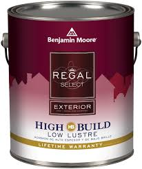 benjamin moore regal select exterior high build paint at guiry u0027s