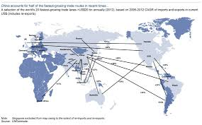 Swa Route Map Fastest Growing Trade Routes Business Insider