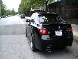 bmw e60 545 bmw e60 545i magnaflow exhaust rev and take