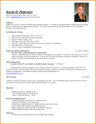 Sample Teacher Resume No Experience by Sample Resume For Flight Attendant With No Experience Free