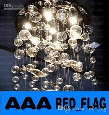 Modern Chandeliers Sydney Discount Modern Fashion Deep Sea Fish Glass Bubble Led Ceiling
