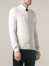 tom ford sweater lyst tom ford slim fit sweater in white for