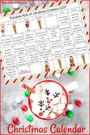 christmas calendar 25 random acts of kindness christmas calendar kindness advent