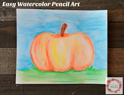 a glimpse inside craft with me easy watercolor pencil art