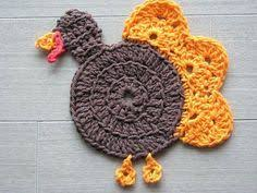 crocheted turkey for thanksgiving 5 monsters turkey