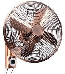 wall mounted rotating fan industrial wall fans retro wall mount oscillating fan with string