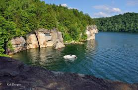 West Virginia lakes images Cove at summersville lake west virginia explorer jpg